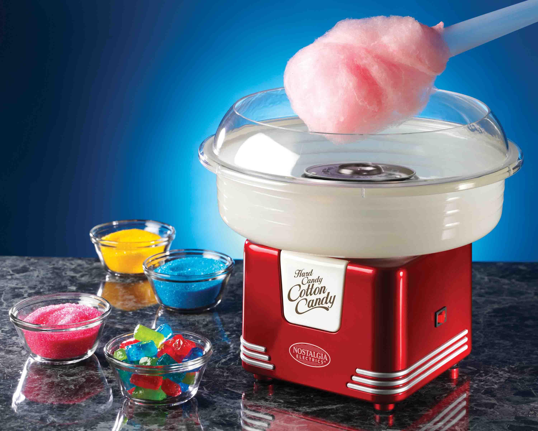 美國 Nostalgia electrics 棉花糖機、爆米花機